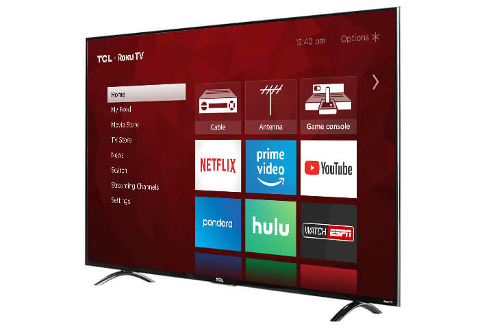 "TCL 55"" Class P6-Series 4K UHD Dolby Vision HDR Roku Smart TV - 55P605"