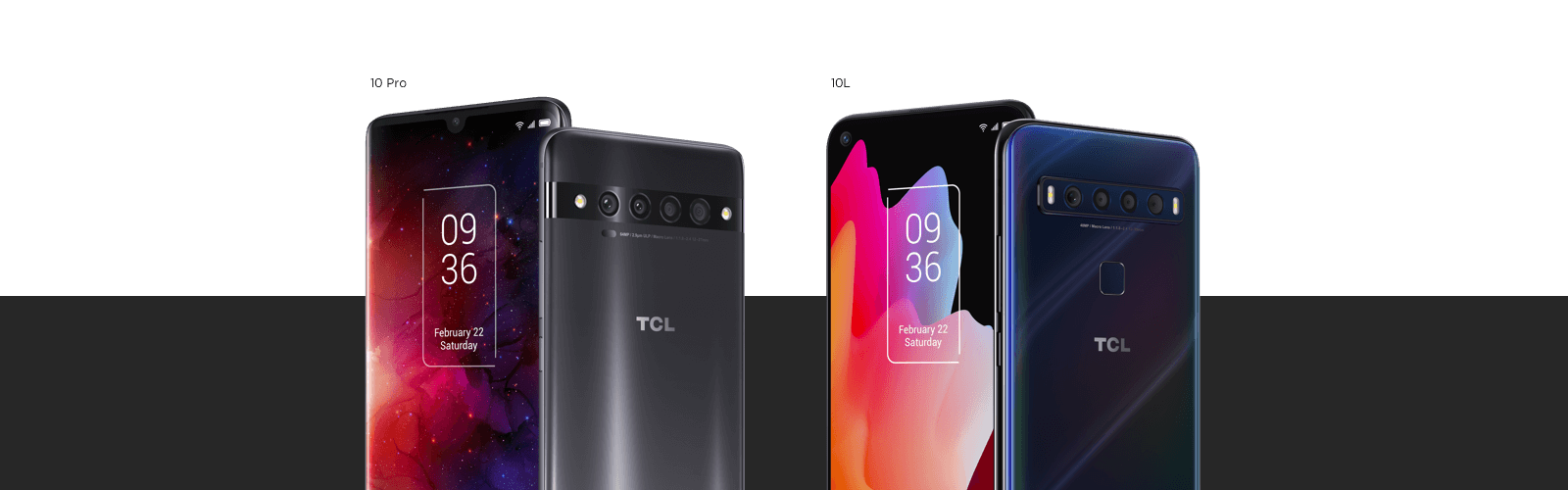 Compare TCL 10 Models