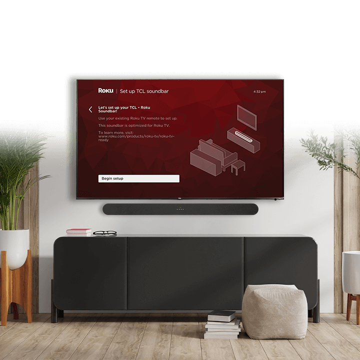 Roku TV Ready Sound Bar